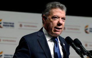 Juan Manuel Santos /Foto EFE