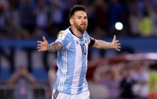 Messi no falló la oportunidad que tuvo. /Foto EFE