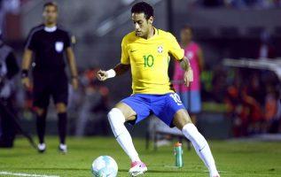Neymar anotó un gol.