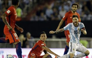 Messi no falló el penal esta vez.