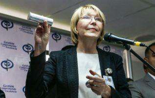 Luisa Ortega Díaz, fiscal general de Venezuela. Foto/ EFE
