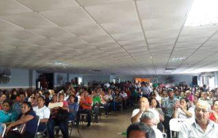 La asamblea en Veraguas. Fotos: Víctor Rodríguez.
