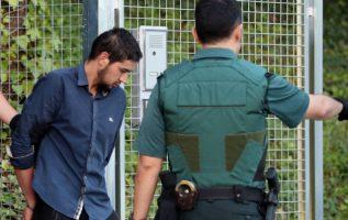 Mohammed Alla, uno de los detenidos. Foto/ EFE