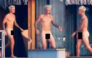 La tendencia de los famosos al desnudo