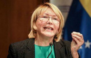 Luisa Ortega Díaz, exfiscal general de Venezuela. Foto/ EFE