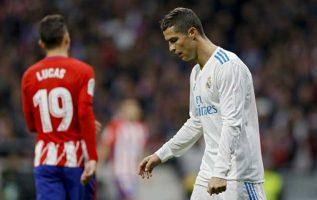 Cristiano Ronaldo tuvo un partido gris. Foto AP