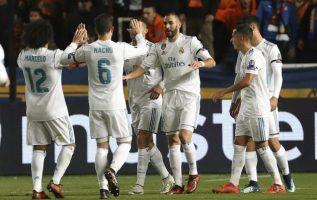 Real Madrid se dio su gusto en casa ajena. Foto AP