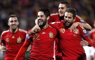 España clasificó fácil al Mundial.