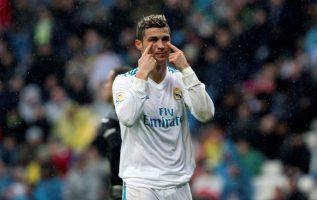 Cristiano Ronaldo no pasa por su mejor momento en el Real Madrid. Foto EFE