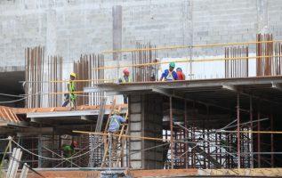 Sumados todos los componentes de la industria de la construcción, su contribución es de un 32% al producto interno bruto  (PIB), de acuerdo con datos del sector. Archivo