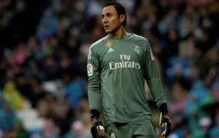 Keylor Navas, portero titular del Real Madrid. Foto EFE