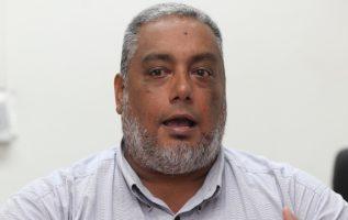 Ricardo Beteta, el dirigente de la Asociación de Hombres y Mujeres Nuevos de Panamá (AHMNP).  Archivos
