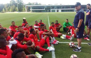 Panamá dirigido por 'Bolillo' Gómez enfrentará Túnez en el mundial. Foto: Fepafut.