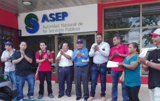 Comunicadores entregaron un escrito a la Asep. Erick Ariel Montenegro