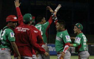 Jugadores de Chiriquí festejan. Foto:Fedebeis