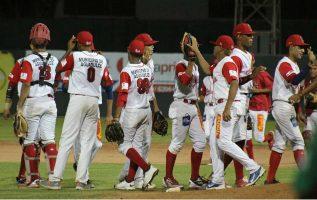 Coclé celebra su triunfo sobre Chiriquí. Foto: Fedebeis