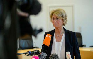La jueza y portavoz de ese tribunal, Frauke Holmer. Foto: EFE