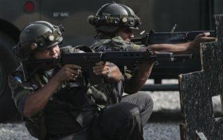 La operación fue coordinada con el Ejército, que está a cargo de la seguridad de Río de Janeiro.
