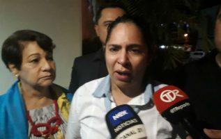 Aira Guerra, madre de la víctima, rompió en llanto y dijo que se había hecho justicia. Foto/José Vásquez