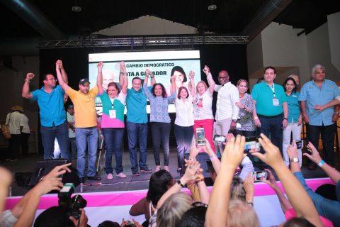 Hoy, los dirigentes del CD se reunieron en el Hotel El Panamá.