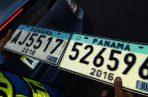 La producción del programa de placas es constante para surtir a todos los municipios del país.