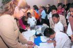 Uno de los objetivos de la Beca Universal es elevar los índices de inscripción y de asistencia escolar dentro de los procesos educativos.