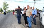 Con pocas semanas en el cargo, el ministro del MOP realizó un recorrido por Panamá Oeste.  Archivo