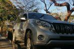 Estado en que fue encontrado el vehículo. Foto: Eric A. Montenegro.