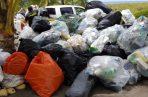 Se recolectaron plásticos, latas de aluminio, vidrios, cartones, empaques de productos y línea blanca, entre otros enseres que son depositados de forma incorrecta por la población. Foto/Mayra Madrid