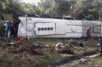 El accidente de tránsito se registró a la altura del sector conocido como  Arimae.