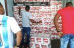 El destino final del cargamento, con más de 8 millones de unidades de cigarrillos, era Bolivia.