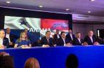 Laurentino Cortizo revela el nombre de siete ministros de Estado. Foto: PRD.