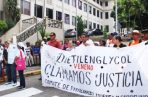 Llevan más de 12 años exigiendo justicia en las calles.  Archivo