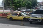 El doble homicidio se registró pasadas las 12 mediodía en la Transístmica.
