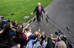 """""""La única cosa que estos políticos van a entender es un terremoto en las urnas, lo hicimos una vez y lo vamos a volver a hacer, y esta vez vamos a terminar el trabajo"""", dijo Trump."""