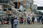 Tres minutos después del primer sismo ocurrió otros sismo, de 6 grados en la escala abierta de Richter, en la misma provincia, de acuerdo al Instituto.