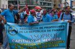 Los dirigentes de los gremios magisteriales le hicieron una serie de peticiones al presidente Laurentino Cortizo.