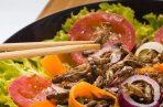 """""""En un futuro podríamos adaptar nuestros regímenes alimentarios al consumo de insecto para aumentar el nivel de contenido de antioxidantes"""". FOTO/EFE"""