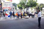 Ayer volvieron a cerrar la plaza 5 de Mayo. Twitter