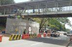 Reparación del puente peatonal de la Vía Transístmica estaría por el orden de los 200 mil dólares. Foto/Cortesía