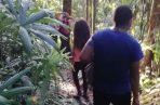 Los ocho jóvenes fueron rescatados en El Peñón de Las Cumbres por unidades de la Policía Nacional y del Sinaproc. Foto cortesía @Sinaproc_Panama