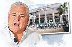 """Ricardo Martinelli, afirma estar feliz por que ahora sí ganará, Rómulo Roux, """"Chello"""" Gálvez y Mayín Correa."""