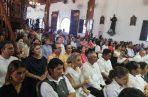 La eucaristia solemne, realizada la mañana del sábado, fue oficiada por el obispo de la diócesis, Rafael Valdivieso Miranda. Foto/Thays Dominguez