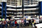 Los trabajadores de Etesa se niegan a mudarse de la actual sede en la que se encuentran.