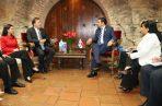 Juan Carlos Varela se fue de viaje al país sede del Parlamento Centroamericano. Foto: Presidencia de la República.