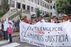 Ayer, se realizó una misa en la Basílica Menor Don Bosco, en honor a las víctimas del dietilenglicol.