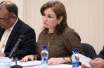 Kenia Porcell inició su gestión en enero de 2015, sin embargo, procedía del Consejo de Seguridad, que supuestamente armó los casos contra los opositores de Juan Carlos Varela. Foto de archivo