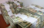 Dinero decomisado.