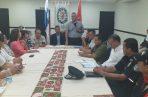 Se llevaron a cabo reuniones con los estamentos de seguridad para armar estrategias. Foto/José Váquez