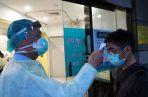 En Tailandia instalan un escáner termal para verificar temperatura a viajeros. Foto: EFE.